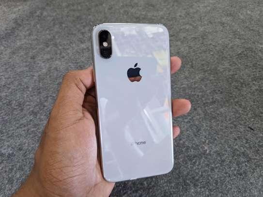 Iphone X Silver 256gb image 2