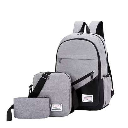 3 IN 1 LAPTOP BAG WITH USB CHARGING CABLE WHOLESALERS AND RETAILERS IN KENYA image 3