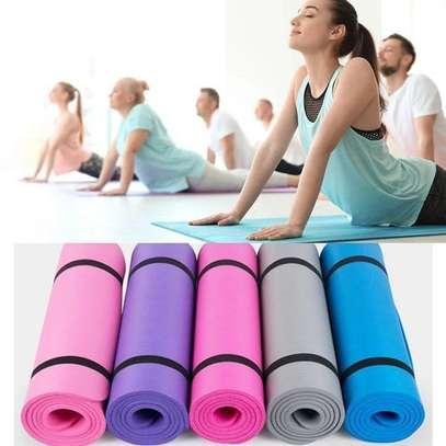 Generic Yoga Mat- Non Slip Exercise Pads For Beginner image 1