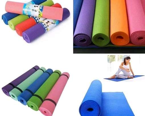 Colourful thick Yoga mats image 1