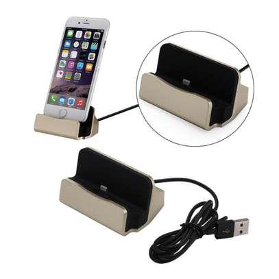 Desktop Charging Dock Charger Data Sync Station Cradle for iPhones image 3