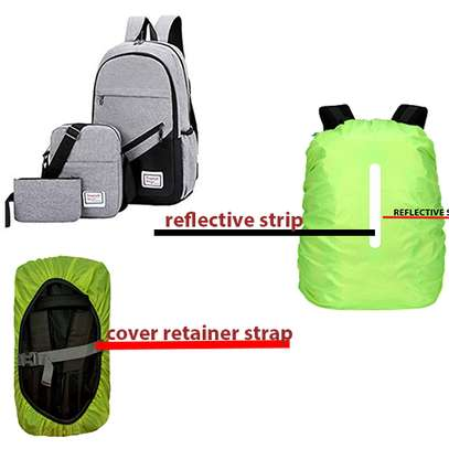 3in1 backpack+free rain&dust bag cover image 1