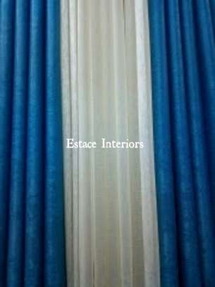BLUE CURTAINS image 4