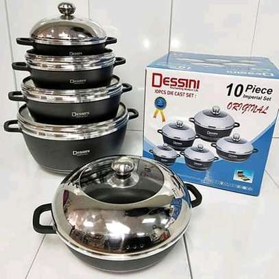 10 Piece Dessini Cookware image 1