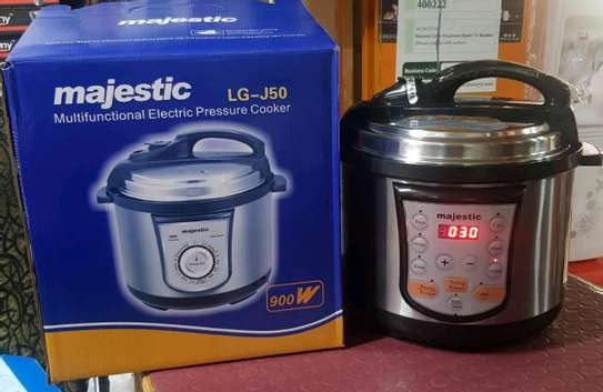Majestic multifunctional electric pressure 5ltrs with timer image 1