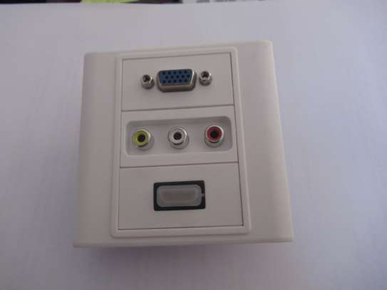 Projector Accessories:HDMI wall socket image 1