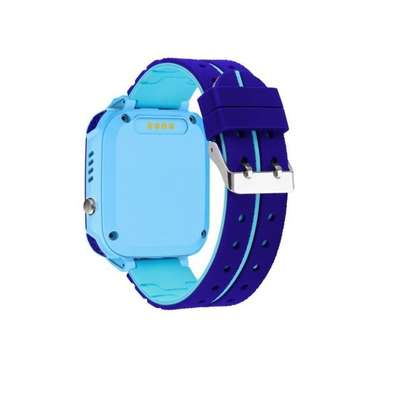 Kids GPS Intelligent Smart Watch - Blue image 4