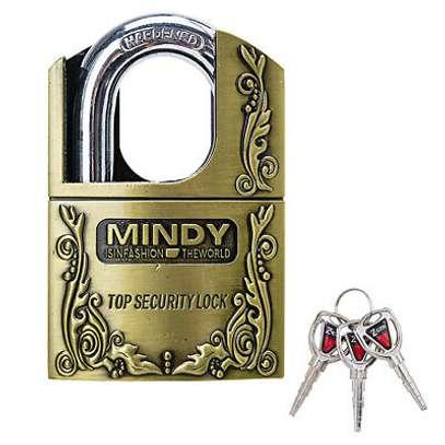 Mindy Security Vintage Padlock- 40mm 50mm 60mm image 4