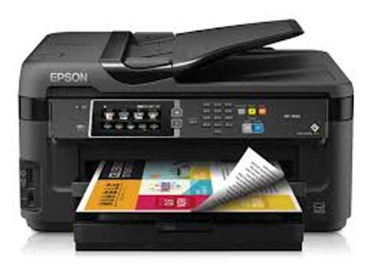 EPSON PRINTER RESET KEYS