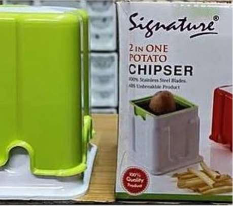 2 in 1 chipper cutter image 1