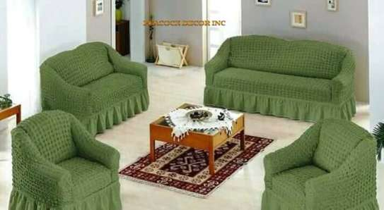 Ready Made Loose Covers 5 seater 11500/= image 1