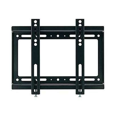 "Wall Mount Bracket. 14"" to 42"" Flat Panel Tilting Tv Mount Bracket - Black image 1"