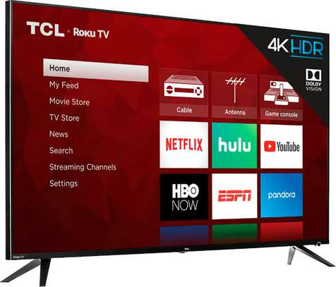 TCL 65 inches Android Smart UHD-4K Digital TVs 65P8M image 1