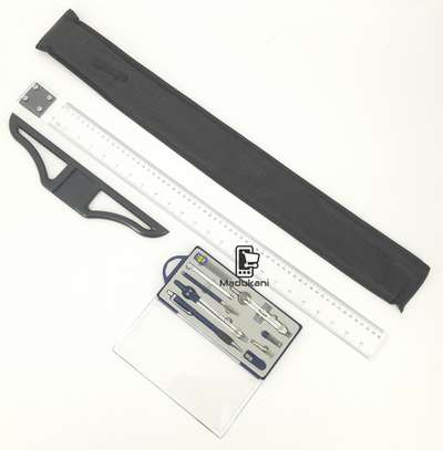 Technical Drawing Set and 60cm 24 inch T Square image 4
