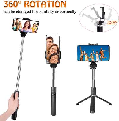 Selfie Stick, Aluminium Alloy Selfie Stick with Detachable Wireless Remote and Mini Tripod Stand Selfie Stick for GOPRO and smartphones image 8