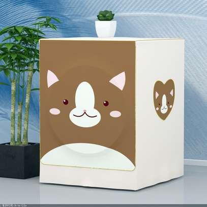 Front Load washing machine cover bear image 5
