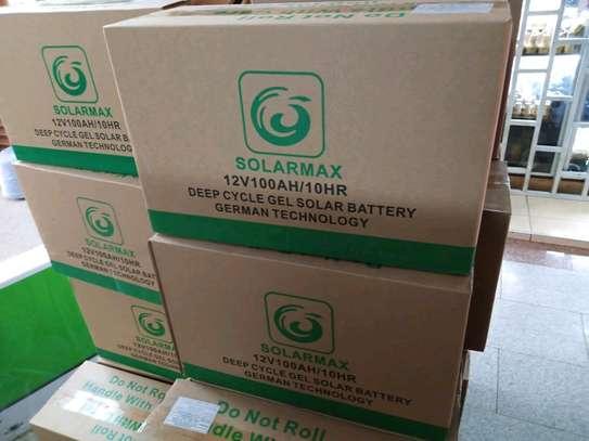 Solarmax batteries 100ah image 1