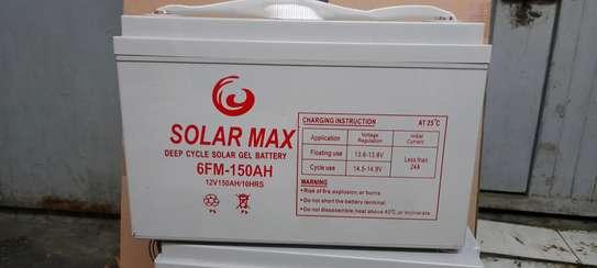 Solarmax deep cycle solar gel battery 6FM- 150Ah image 2