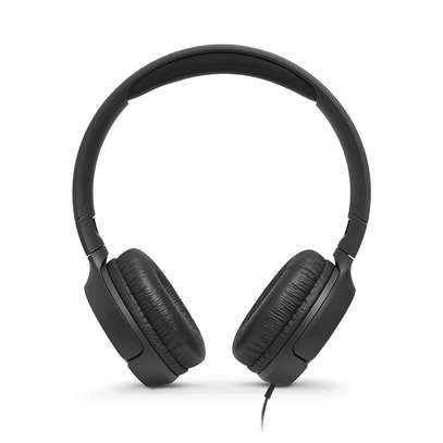 JBL Tune 500 Powerful Bass On-Ear Headphones with Mic image 3