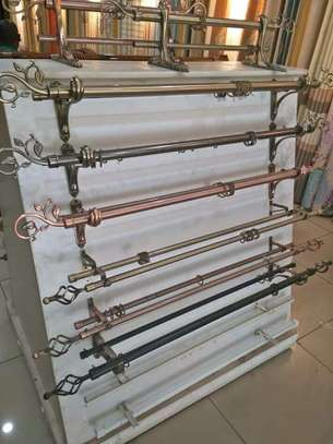 modern curtain` rods image 5
