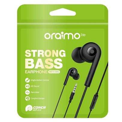 ORAIMO OEP-E10 STRONG BASS EARPHONE image 1