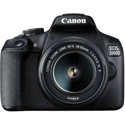 Canon EOS 2000D 24.1MP Wi-Fi With 18-55 Lens IS II image 1