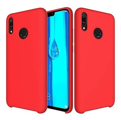 Silicone Cover High Quality  with Soft-Touch Back Protective Case for Huawei Y9 2019/Y9 Prime 2019 image 6