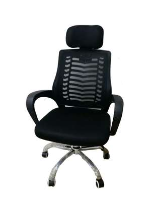 An adjustable office chair with a headrest Z31P image 1