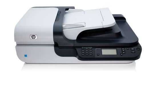 Scanjet N6350 Networked Document Flatbed Scanner image 1