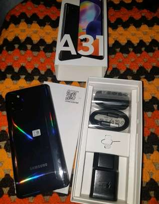 Samsung Galaxy A31 ~ 128 Gigabytes  Black image 1