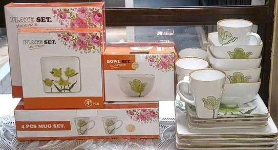 *Stoneware tempered 16pcs ceramic dinner sets* image 2
