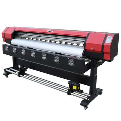 Sign Printing Machine with DX5 Head 5ft Digital Eco Solvent Printer Plotter 1.6m Vinyl Graphic Printer image 1