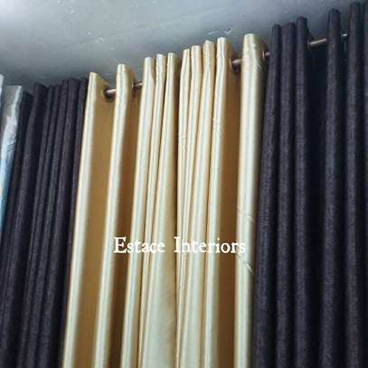 Shades of Brown Curtains and Sheers image 1