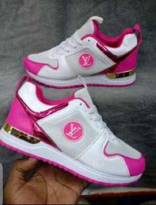 Pink White LV image 1