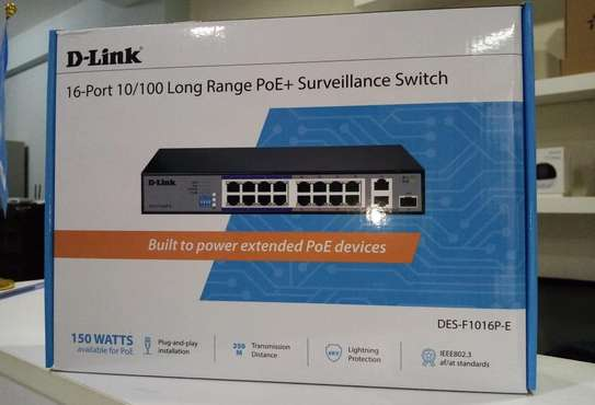 16 Port DLink Swith image 2