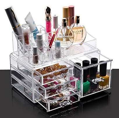 Cosmetic storage 5 drawers image 1