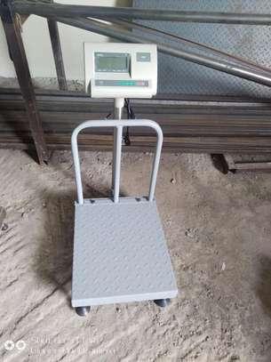 Platform scale 500*500mm 500kg image 4
