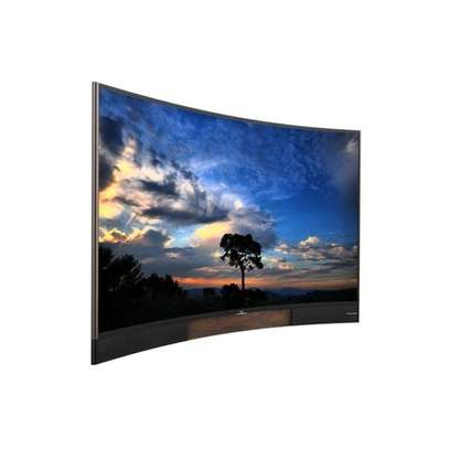 TCL 55 Inch Curved Ultra HD 4K Smart TV image 1
