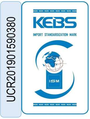 We Print KEBS Stickers