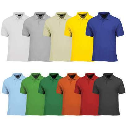 PLAIN POLO TSHIRTS
