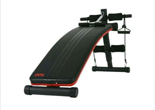 Adjustable sit up ab bench