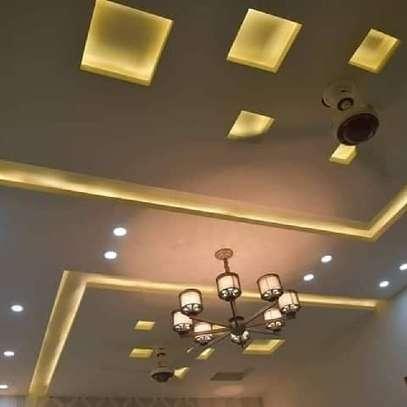 Gypsum Classy Ceiling Modern Design image 3