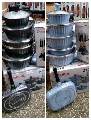 21 pieces Dessini Cookware Set image 1
