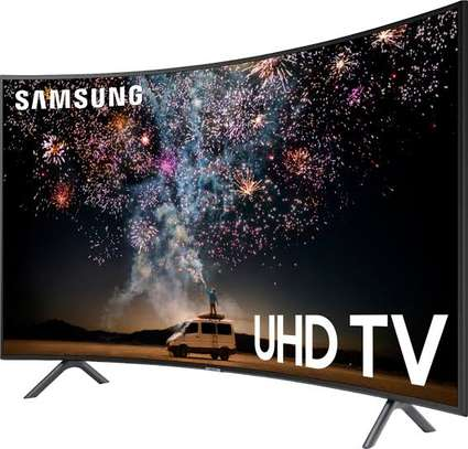 Samsung 65 inches curved digital smart 4k tv image 1