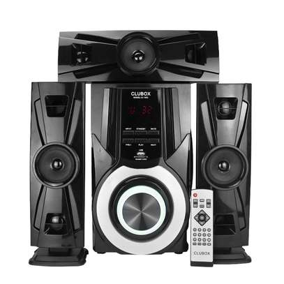 CLUBOX IC-1003 HI-FI BT Multimedia Bluetooth Speaker System 12000W PMPO. black 60w IC-1003 image 1