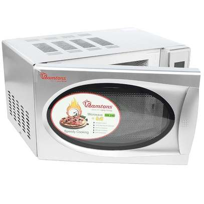 RAMTONS 20 LITERS MICROWAVE+GRILL SILVER- RM/240 image 2