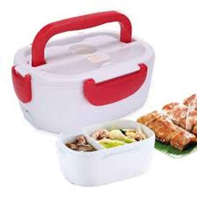 Electric lunch box normal -red image 1
