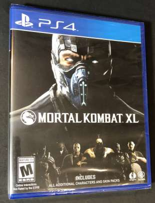 Mortal Kombat XL (PS4) Game - NEW image 1