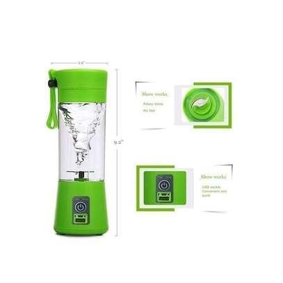 Portable Blender Juicer Cup / Electric Fruit Mixer / USB Rechargeable Juice Blender 380mL image 1