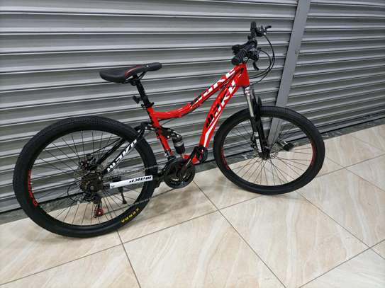 Dual suspension 26 bike